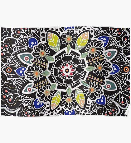 fleur indienne Poster
