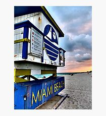 Miami Beach Photographic Print