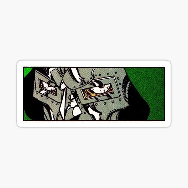 RETRO DOOM. Sticker