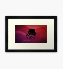 Kazplay logo Framed Print