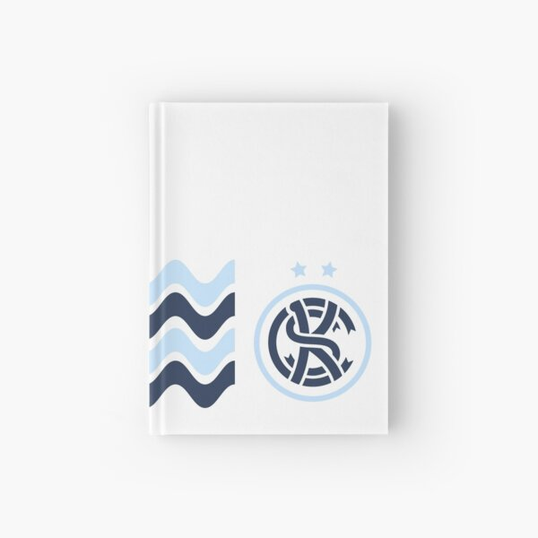KC Soccer Blue Waves Hardcover Journal