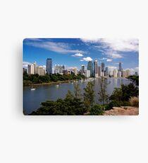 Brisbane's City Skyline Canvas Print