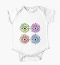 Psychedelic Seeing Eye Lotus One Piece - Short Sleeve