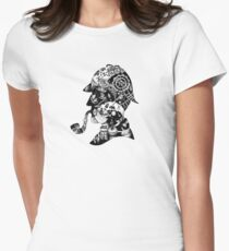 Mr. Holmes Womens Fitted T-Shirt