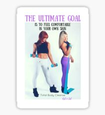 The Ultimate Goal - Total Body Cleansing Sticker
