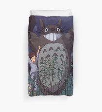 Totoro Growing Tree 2 Duvet Cover