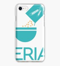 Serial Cereal Entrepreneur Funny Typography Text iPhone Case/Skin