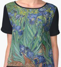 Irises Chiffon Top