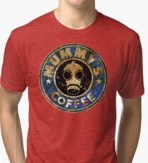 MUMMY'SCOFFEE VINTAGE VERSION Tri-blend T-Shirt