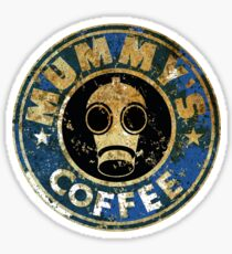 MUMMY'SCOFFEE VINTAGE VERSION Sticker