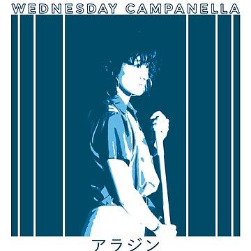 Wednesday Campanella - Aladdin by jamesXdavenport