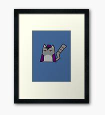 Aladdin Cat Framed Print