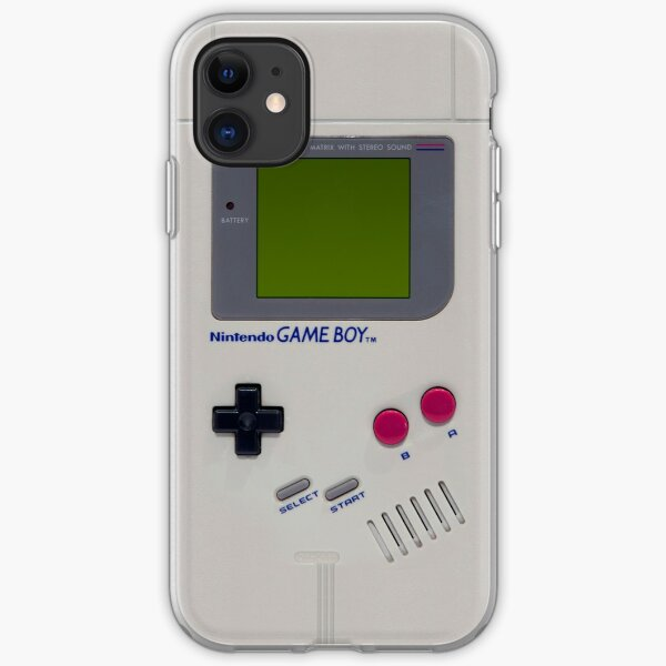 Gameboy iPhone Soft Case