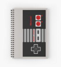 NES Controller Spiral Notebook