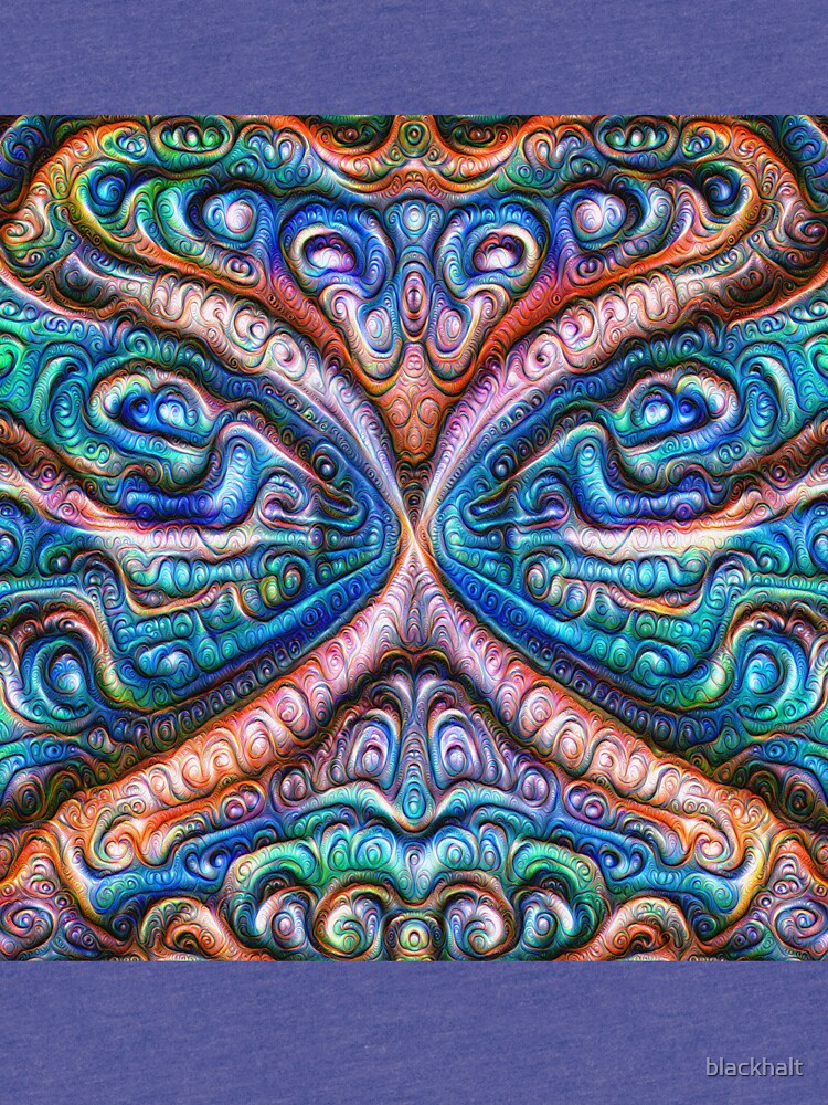Frozen astral liquid #DeepDream #Art by blackhalt