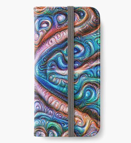 Frozen astral liquid #DeepDream #Art iPhone Wallet