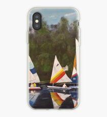 Myrick - Timberlake Sail Boats iPhone Case