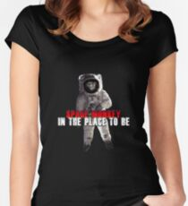 Placebo Space Monkey Women's Fitted Scoop T-Shirt