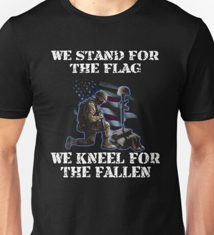 We Stand For The Flag Kneel Fallen Gifts Amp Merchandise