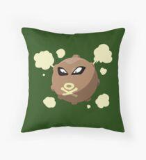 Koffing/Hitmonlee Throw Pillow