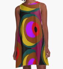 Eye Watch A-Line Dress