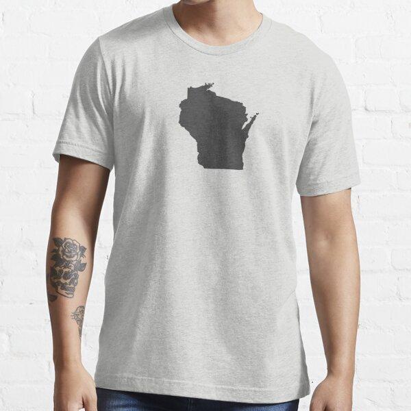 Wisconsin Plain Essential T-Shirt