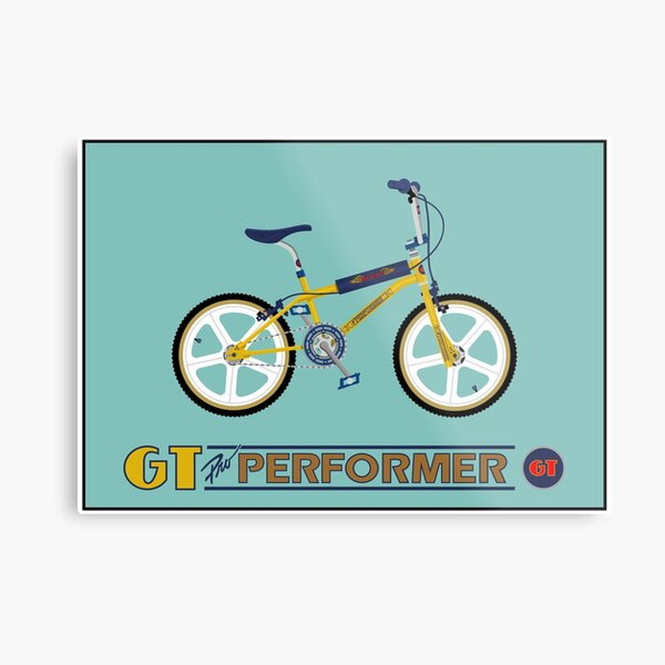 GT Pro Performer Metal Print