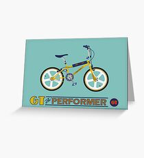 GT Pro Performer Greeting Card