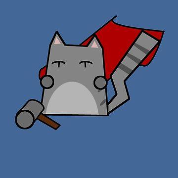 Thor Cat by Rjcham