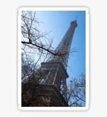 The Eiffel tower in Paris Sticker