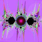 Fractal pattern ornamental by RosiLorz