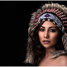 Tribal Beauty by Margaret Metcalfe