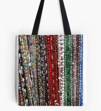 Marketplace Beads Tote Bag