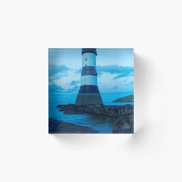 WELSH LIGHTHOUSE Acrylic Block