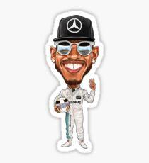 Lewis Hamilton 2017 Sticker