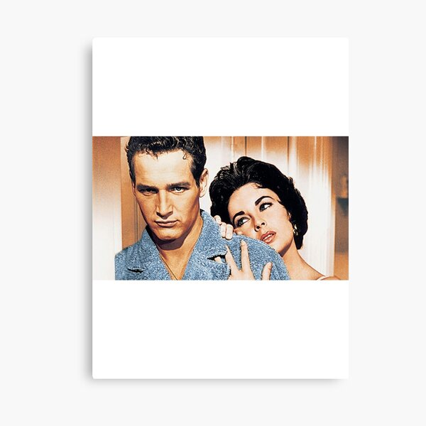 Cat on a Hot Tin Roof Canvas Print