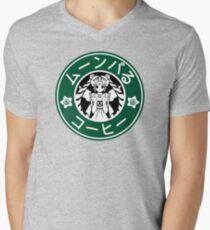 Moonbucks Coffee: Special Edition Men's V-Neck T-Shirt