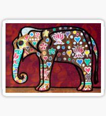 The Elephant Festival Sticker