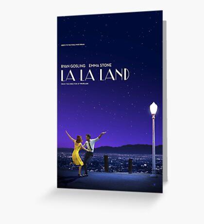 La La Land Movie Greeting Card