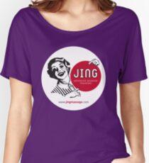 Jing Retro Women's Relaxed Fit T-Shirt