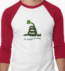 Keine Steppe auf Pepe Baseballshirt für Männer
