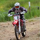 Dirt bike racing by Martyn Franklin