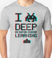 I heart deep reinforcement learning, capital (8-bit 3D) T-Shirt