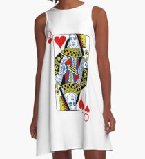 Queen of hearts playing card A-Line Dress