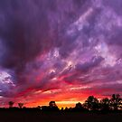 Epic Midwest Sunset and Stormy Sky by Kenneth Keifer