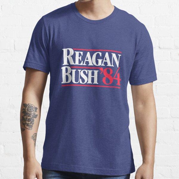 Cartel de campaña 1984 de Reagan Bush 1984 Camiseta esencial