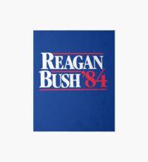 Reagan Bush '84 1984 Campaign Poster Art Board