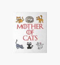 Mother Of Cats Art Board