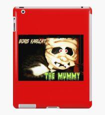 Boris Karlcat in the Halloween classic 'The Mummy' iPad Case/Skin