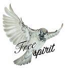 Sparrow - Free Spirit by Lisbeth Thygesen